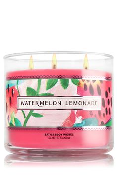 Watermelon Lemonade 3-Wick Candle - Home Fragrance 1037181 - Bath & Body Works