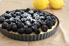 Lemon Blackberry Tart Recipe