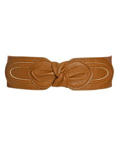 Knot Leatherette Waist Belt - Teen Clothing by Wet Seal
