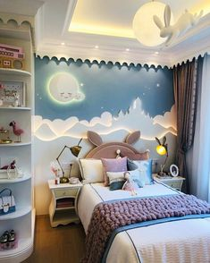 Inspirational ideas about Interior Interior Design and Home Decorating Style for Living Room Bedroom Kitchen and the entire home. Curated selection of home decor products. Rugs In Living Room, Living Room Bedroom, Room Decor Bedroom, Girls Bedroom, Ikea Bedroom, Bedroom For Kids, Bedroom Ceiling, Kids Bedroom Designs, Kids Room Design