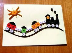 quilled train