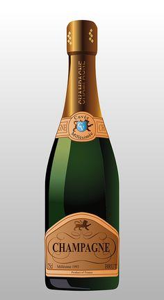 Champagne, Botella, Beber, Bebidas, Alcohol