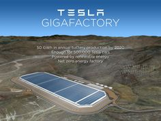 Drone fly-over shows how huge the Tesla Gigafactory is