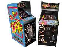 Old school arcade games!