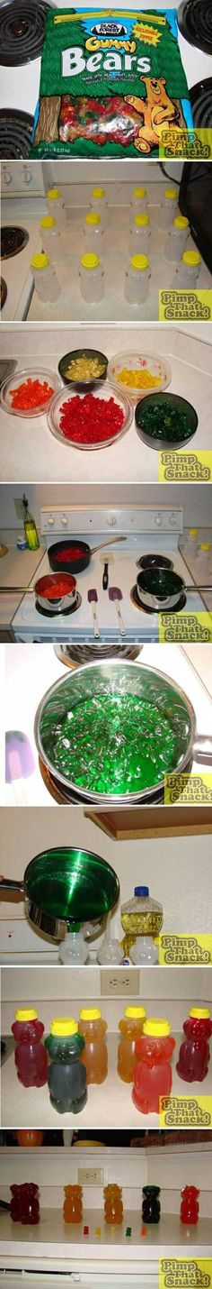 DIY giant gummy bears! by belinda
