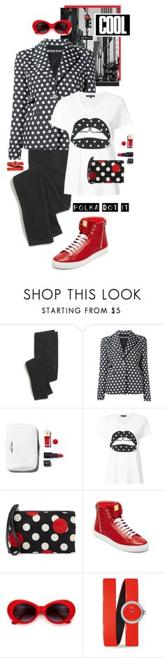 """""""So Dotty: Polka Dots"""" by shortyluv718 ❤ liked on Polyvore featuring Madewell, Rochas, Markus Lupfer, RED Valentino, MCM, Cyrus, Christian Dior and PolkaDots"""