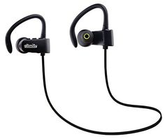 Special Offers - allimity Wireless Bluetooth v4.1 Stereo Headset In Ear Noise Cancellation Sweatproof Sports Headphones with Mic for gym Hiking Running Jogging Cycling Exercising Training(Black) - In stock & Free Shipping. You can save more money! Check It (November 30 2016 at 03:29AM) >> http://ift.tt/2ggJLhI