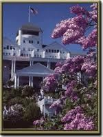 According to Anishinaabe-Ojibwe tradition, Mackinac Island is a sacred place populated by the first people and was home to the Great Spirit Gitchie Manitou. Description from antiqueshopsinmichigan.com. I searched for this on bing.com/images