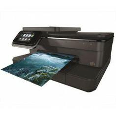 La multifonction Photosmart 7520 e-All-in-One de HP est idéale pour les utilisateurs à la recherche d'impression photo de qualité professionnelle.Grâce au large écran tactile couleur, l'imprimante permet de réaliser toutes les opérations (imprimer, copier, numériser) en un clin d'oeil. De même pour des tirages photo conçus directement, sans ordinateur. Réalisez également des tirages à partir du l…