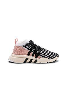 free shipping 3eddf c6d21 adidas Originals EQT Support Mid in White  Black  Trace Pink  FWRD  Expensive Shoes