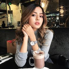 """excludeing: """"foxeia: """"Lily May Mac """" You're beautiful x"""" n i t r o x e d Beauty Makeup, Eye Makeup, Hair Makeup, Hair Beauty, Lily Maymac, Wattpad, You're Beautiful, Beautiful People, Tumblr Girls"""