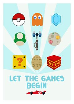 """Let the Games Begin"" by Bear and Robot"