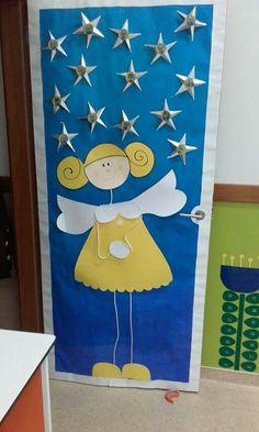 Resultado de imagen de portas decoradas de natal
