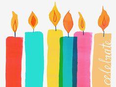 Margaret Berg Art: Celebrate+Candles