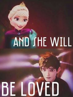 Jelsa XDXD And she will be loved, and she will be loved.....