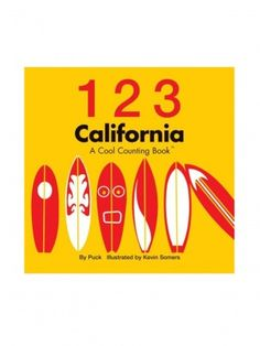123 California: A Cool Counting Book by Our World of Books - ShopKitson.com