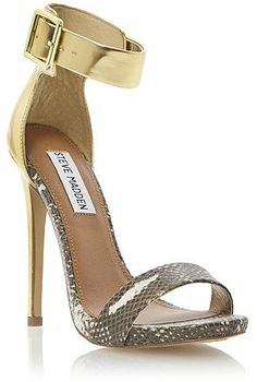 Dune STEVE MARLENEE Buckle Ankle Strap High Heeled Sandal on shopstyle.co.uk