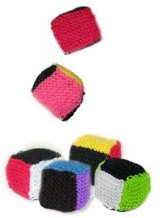 Free Knitting Pattern - Toys, Dolls & Stuff Animals: Juggling Balls