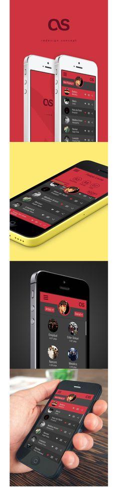 Lastfm Redesign Concept