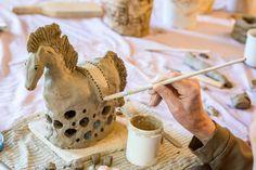 Keramický KŮN – postup výroby  |  KERAMICKÝ ATELIÉR, Marie Sokolová