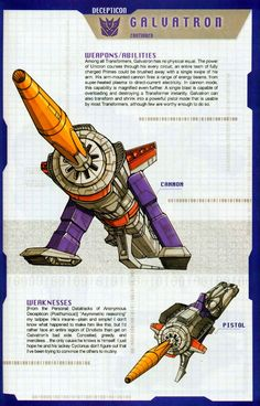 Transformer of the Day: Galvatron (Part 2)