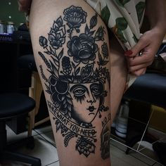 Ivan Antonyshev tattoo
