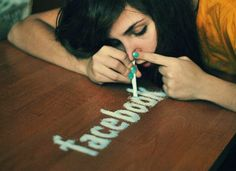 XXI century drug – by Lukreszja Conceptual Photography, Conceptual Art, Art Photography, Amazing Photography, Bad Girls Club, Facebook Addiction, Technology Addiction, Social Media Measurement, Fotografia Social