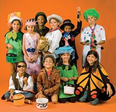 12 do-it-yourself kid Halloween costumes