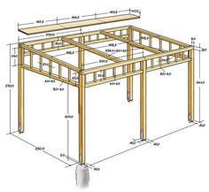 How to build a pergola and prepare for the process? How to build a pergola and prepare for the process? How to build a pergola and prepare for the process? Diy Pergola, Pergola Canopy, Outdoor Pergola, Wooden Pergola, Backyard Patio, Pergola Lighting, Pergola Swing, Cheap Pergola, Terrace Building