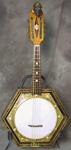 French Mandolin Banjo (made for  Maurice Chevalier) --- https://www.pinterest.com/lardyfatboy/