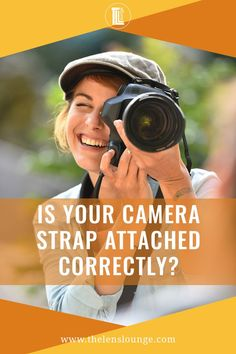 Did you attach a camera strap to your camera the right way? If not, you run the risk of ruining your camera by it slipping off your neck. Learn how to do it Maternity Photography Tips, Street Photography Tips, Portrait Photography Tips, Gopro Photography, Landscape Photography Tips, Photography Tips For Beginners, Exposure Photography, Photography Equipment, Night Photography
