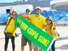 vai ter copa sim! #cariocadna #worldcup2014 #copa2014 #Brasil2014 #soccer #futebol #vaitercopa