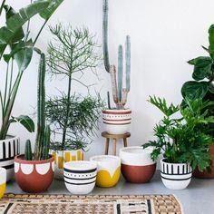 cache pot en gr s pot en c ramique poterie pot vase pour plante grasse planters poterie. Black Bedroom Furniture Sets. Home Design Ideas