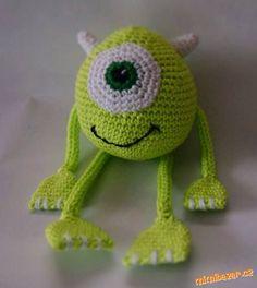 HÁČKOVÁNÍ - Kuliočko Crochet Dolls, Crochet Hats, Color Combos, Tweety, Diy And Crafts, Knitting, Disney, Character, Beautiful