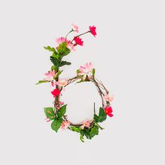 // anne lee floral typography