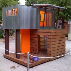 The coolest kids clubhouse ever