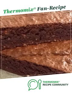 Hazelnut Chocolate Brownies by Bef. A Thermomix <sup>®</sup> recipe in the category Baking - sweet on www.recipecommunity.com.au, the Thermomix <sup>®</sup> Community.