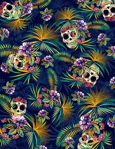 Obsessed With Skulls • Art by Paulo Balcita.