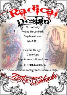Done at Radical DesignTattoo Studio