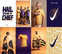 Celebrating the culture that surrounds one of South Africa's biggest club sides, Nike have launched the Kaizer Chiefs home and away kits. An eclectic feel with contemporary tones, it's a release that hits an on point, on and off pitch football party. Sports Jersey Design, Sports Graphic Design, Football Design, Sport Design, Soccer Gifs, Soccer Pro, Soccer Videos, Soccer Teams, Hockey