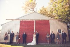 Victoria Anne Photography | wedding party | country wedding