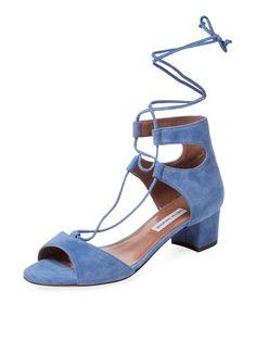 Tallia Suede Block Heel Sandal by Tabitha Simmons at Gilt