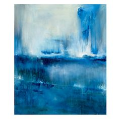 Blue Forest  $499.95  Artist Samuel Kane. Ships From Vendor in 2-3 Weeks - Dimensions 50''W x 60''H - Oversize Charge $19.95