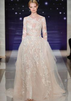 Robe de mariée dentelle Reem Acra 2016