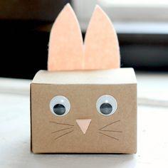 Shoebox Crafts : DIY bunny boxes