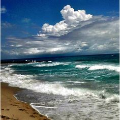Jupiter beach in Jupiter Florida