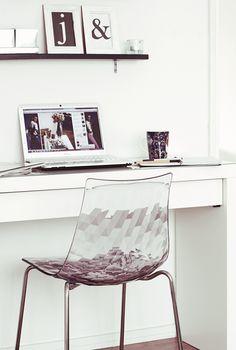 beautiful chair for a work space at home I LOVE THIS CHAIRRRRRRRRRRRRR