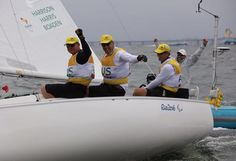 Double-gold sailing glory for Australia in Rio 16.09.2016 Competition is wrapped-up in two classes with a day to spare – with Britain and France going head-to-head in third on final day Australian Sonar team - Rio 2016