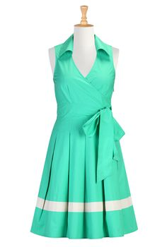 Vintage Inspired Clothes, 50 S Style Dresses Shop Online Womens Designer Dresses | Sundresses | Womens Sundresses | Plus Size Sundresses | Petite Sundresses | | eShakti.com