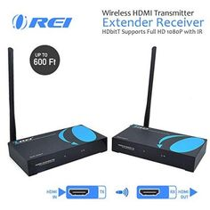 Check out the best wireless HDMI Transmitters and select the best one for you. A wireless HDMI transmitter lets you control the. Data Transmission, Hdmi Cables, Hd 1080p, Digital, Top, Shirts, Blouses